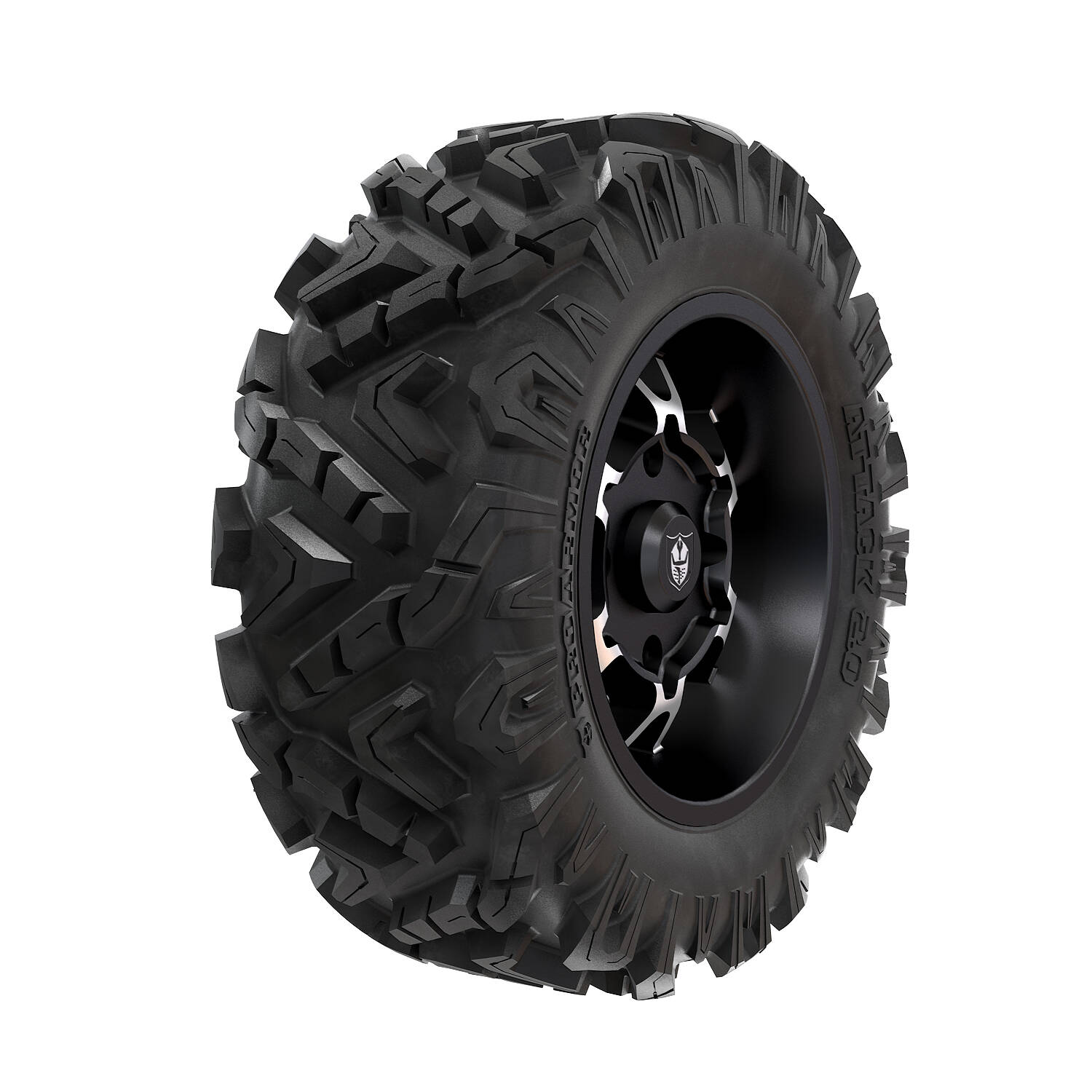 Pro Armor® Wheel & Tire Set: Cyclone - Accent & Attack 2.0 - 28""