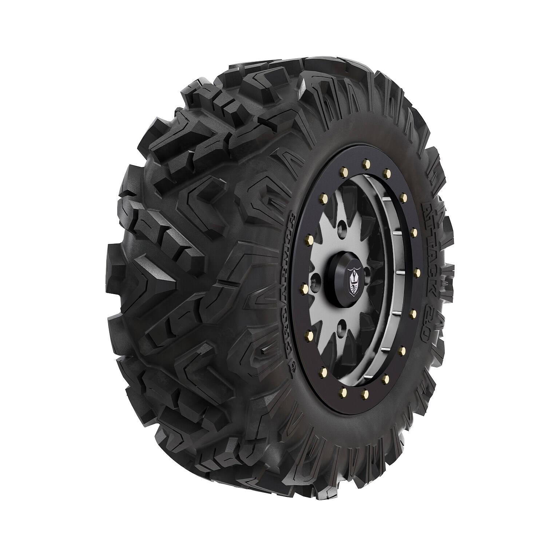 """Pro Armor® Wheel & Tire Set: Halo - Accent & Attack 2.0 - 28"""""""