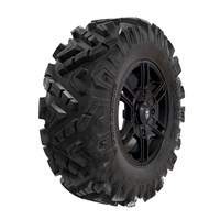 Pro Armor® Wheel & Tire Set: Wyde & Attack 2.0, Matte Black, 30R15