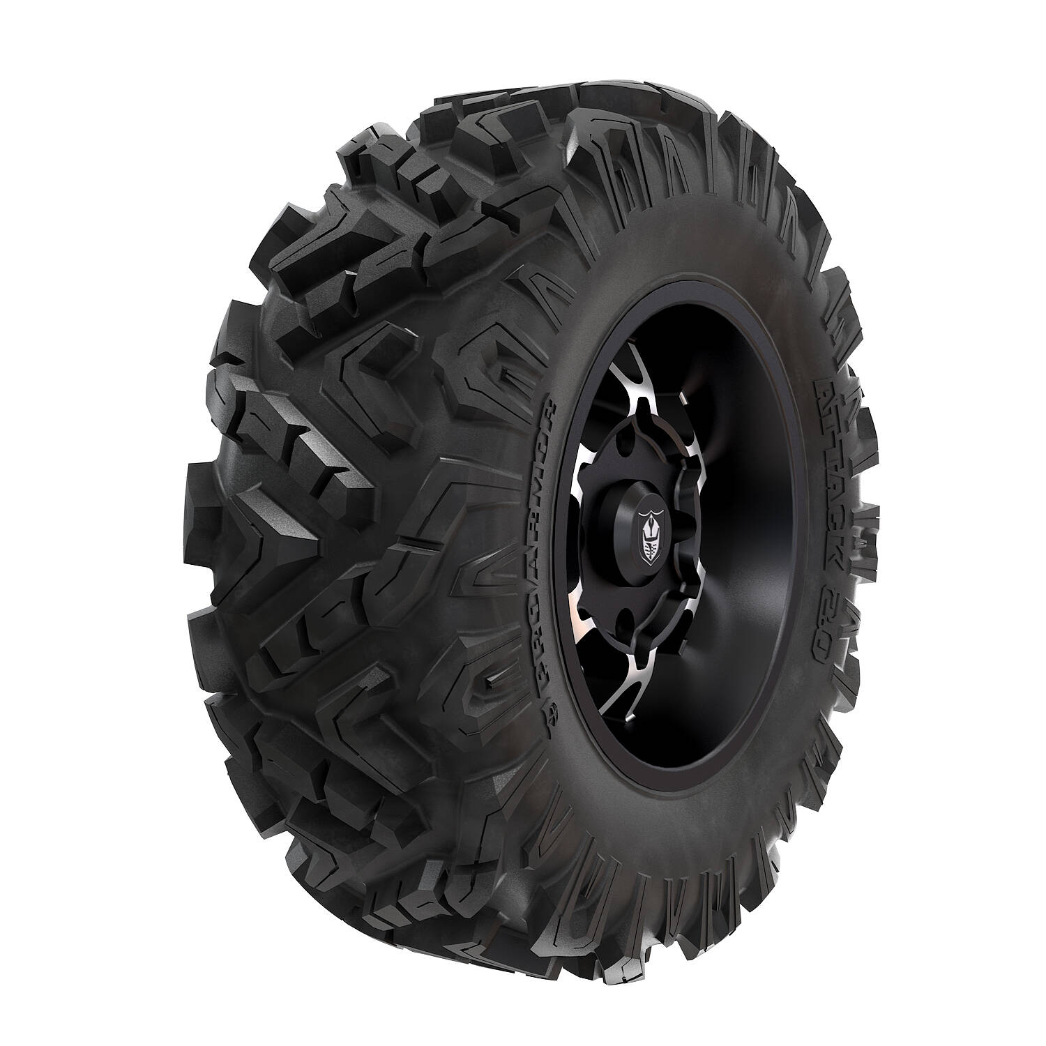 Pro Armor® Wheel & Tire Set: Cyclone - Accent & Attack 2.0 - 30""