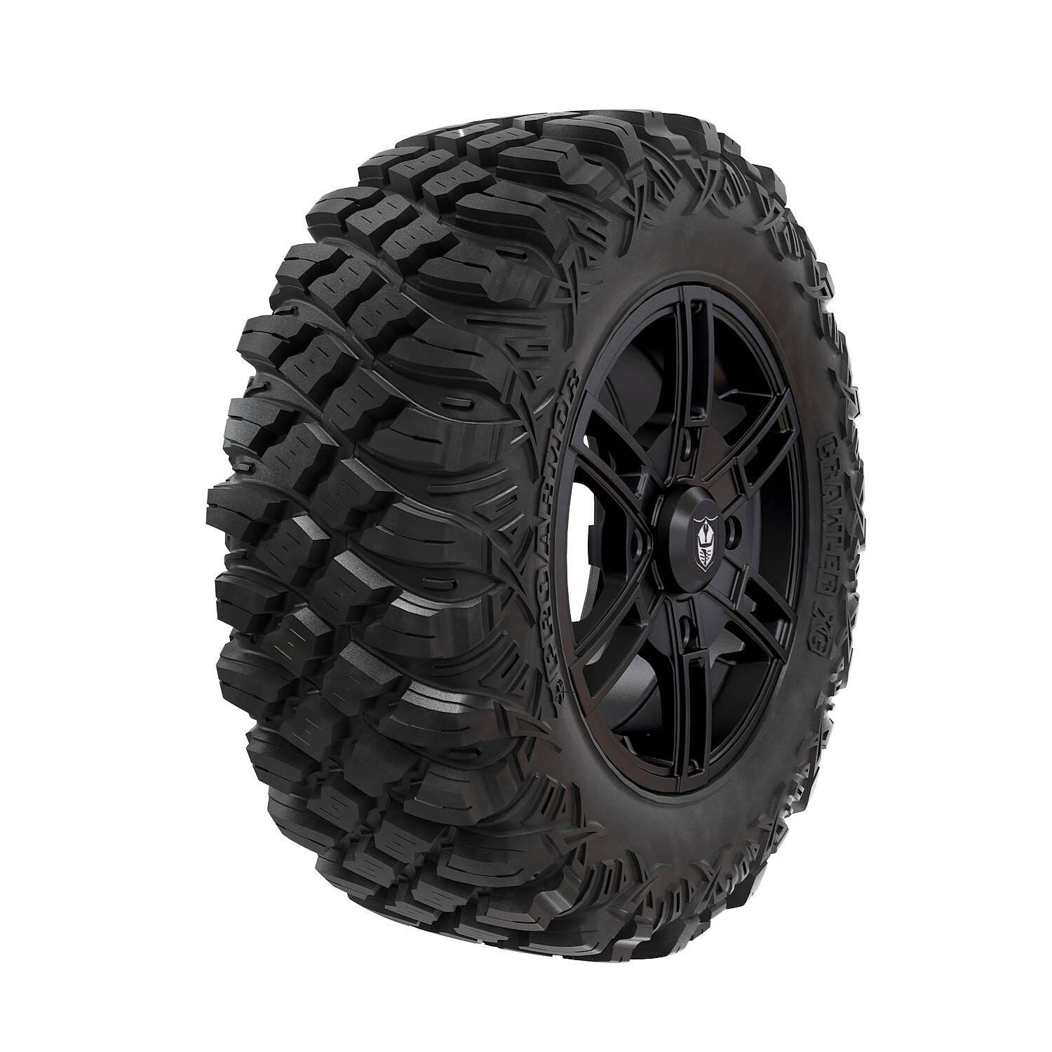 Pro Armor® Wheel & Tire Set: Wyde - Matte Black & Crawler XG - 28""