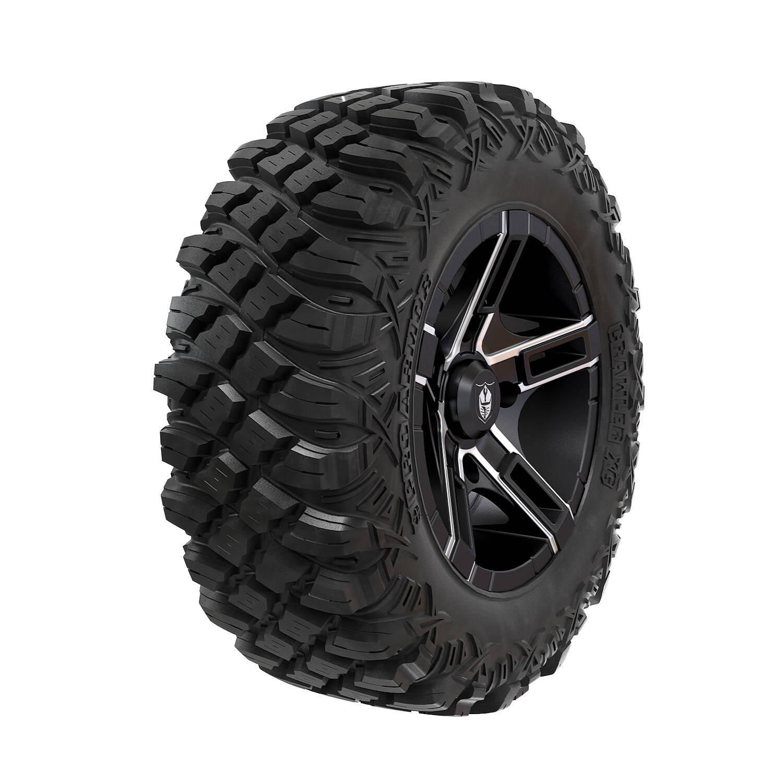 "Pro Armor® Wheel & Tire Set: Flare - Accent & Crawler XG - 28"""