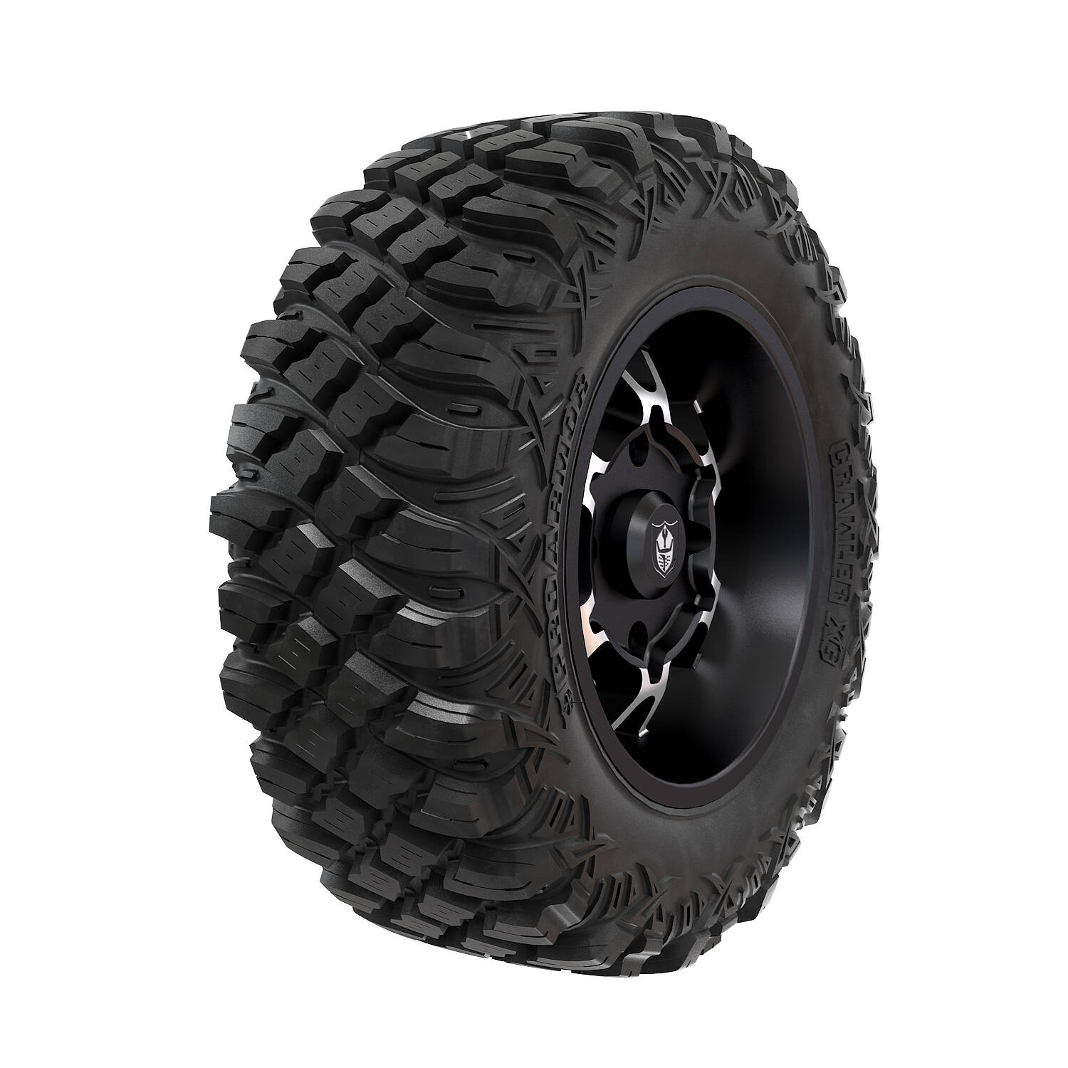 Pro Armor® Wheel & Tire Set: Cyclone - Accent & Crawler XG - 28""