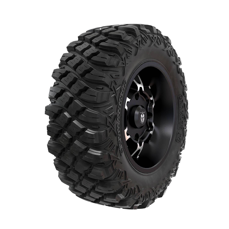 Pro Armor® Wheel & Tire Set: Cyclone & Crawler XG, Accent, 28R15