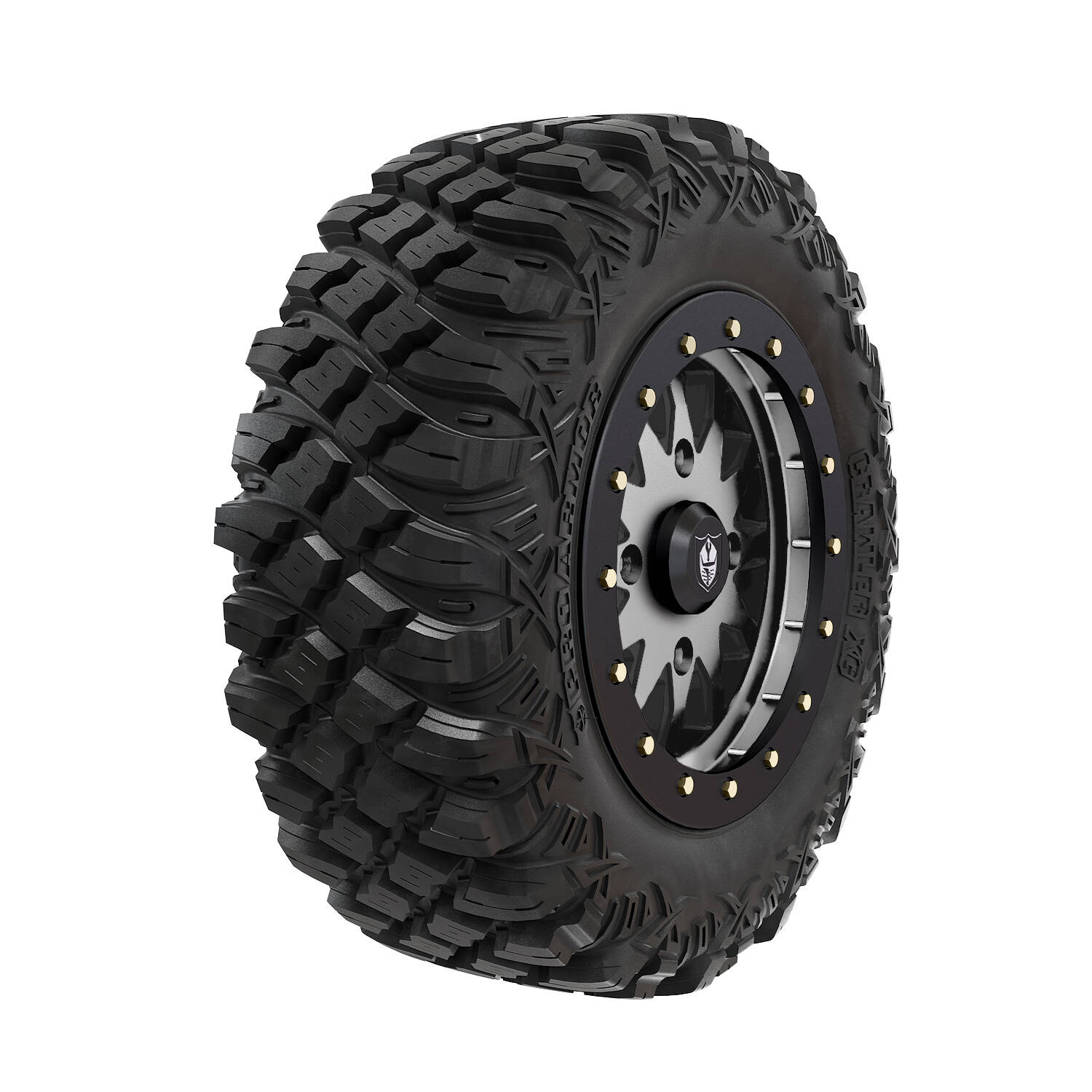 Pro Armor® Wheel & Tire Set: Halo - Accent & Crawler XG - 28""