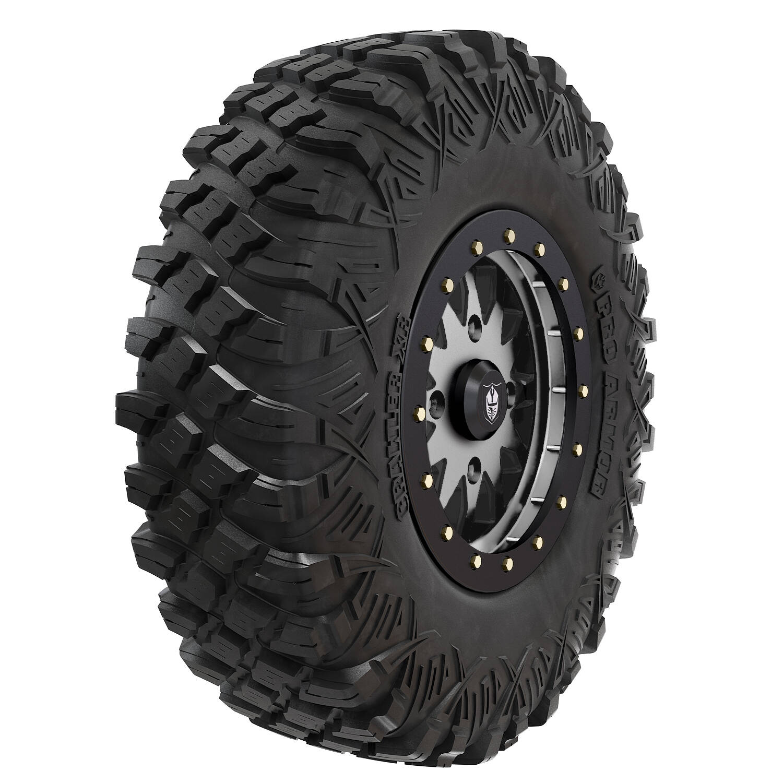 "Pro Armor® Wheel & Tire Set: Halo - Accent & Crawler XR - 32"""