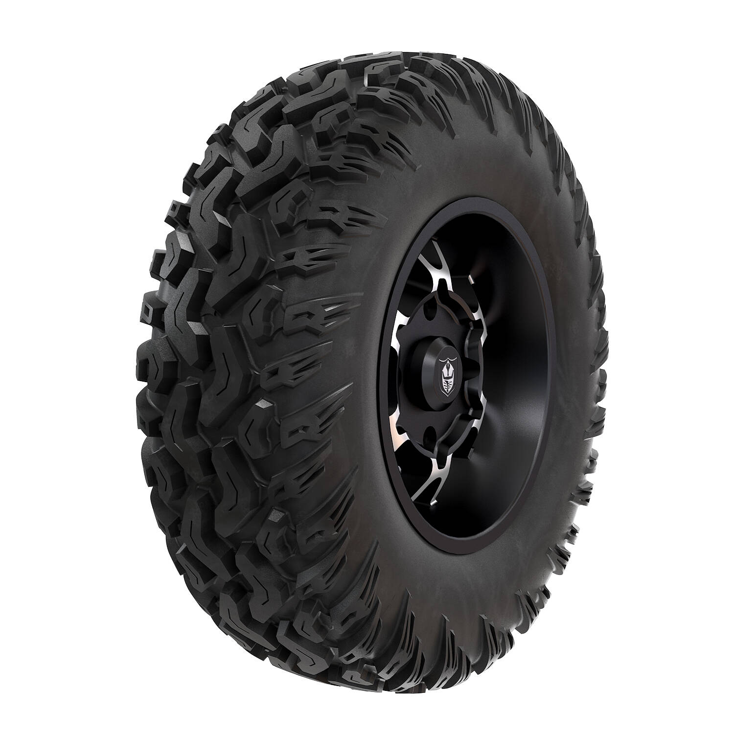 Pro Armor® Wheel & Tire Set: Cyclone - Accent & Hammer - 30""