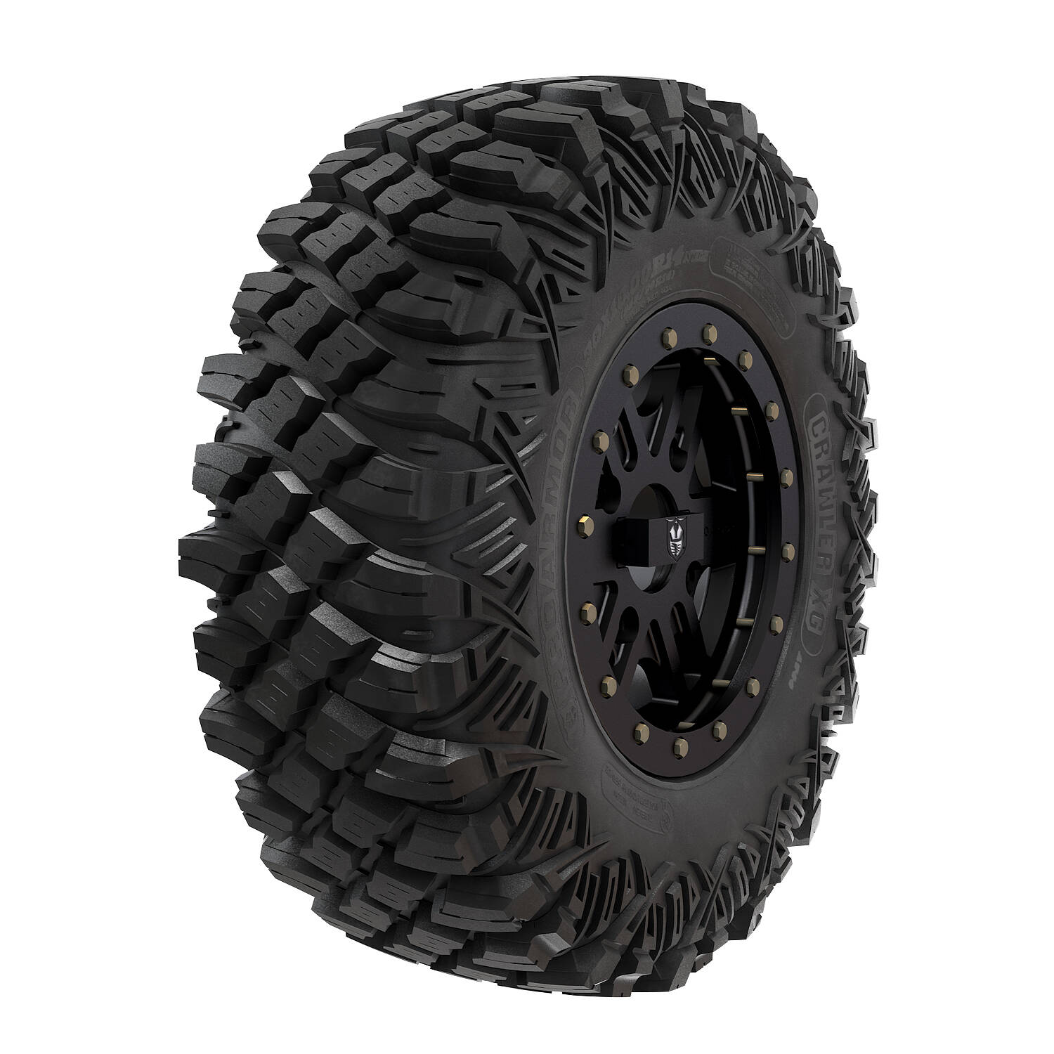 Pro Armor® Wheel & Tire Set: Combat - Matte Black & Crawler XG - 30""
