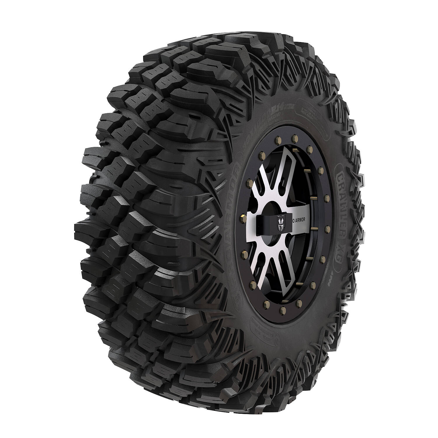 Pro Armor® Wheel & Tire Set: Combat - Accent & Crawler XG - 30""