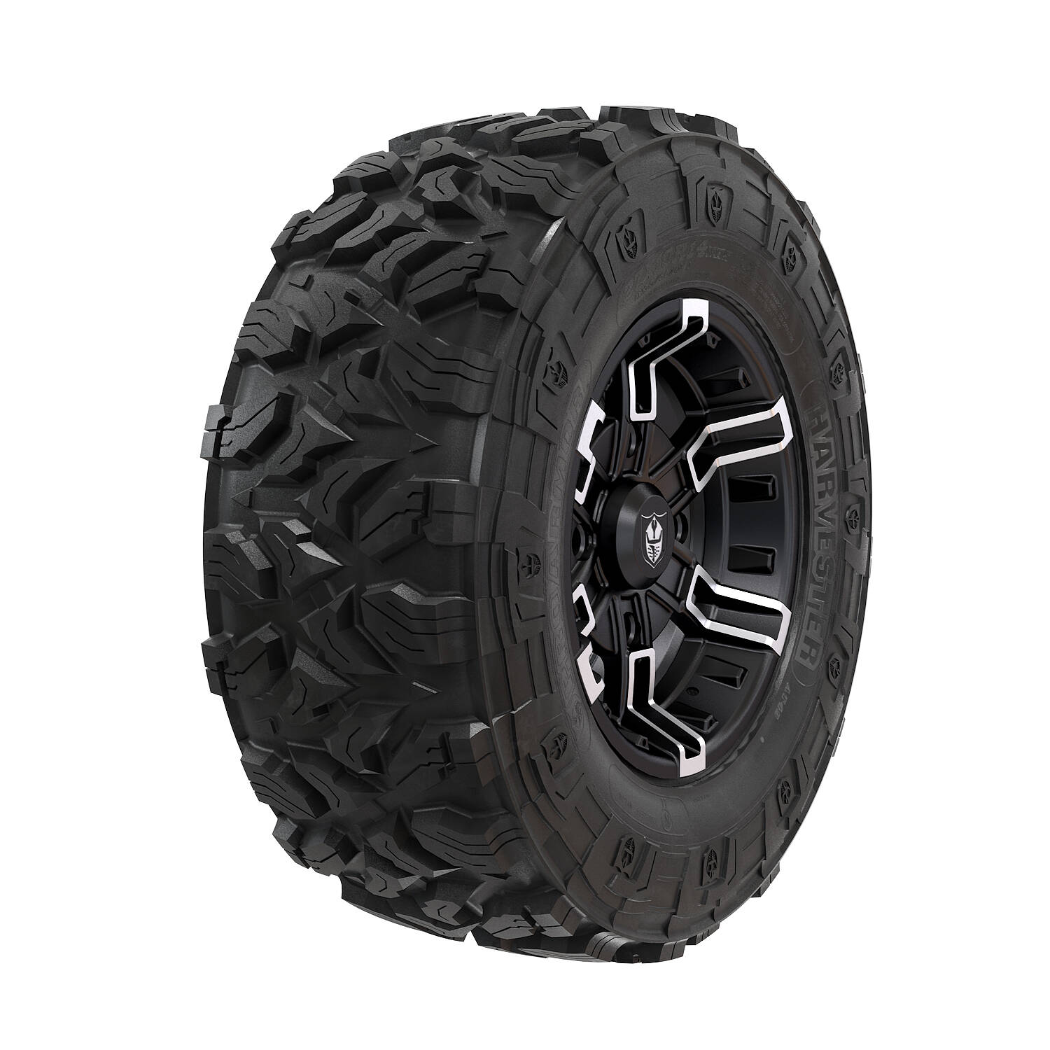 Wheel & Tire Set: Pro Armor Harvester® & Buckle - Accent - 28""