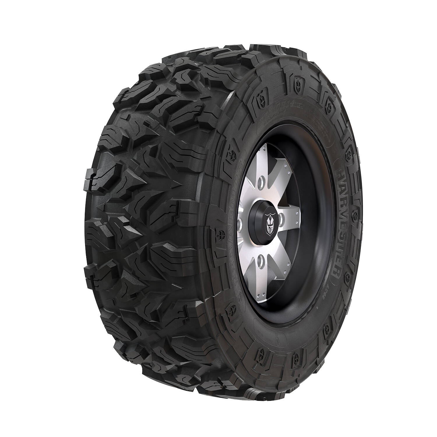 Pro Armor® Wheel & Tire Set: Amplify & Harvester®, Accent, 28R15