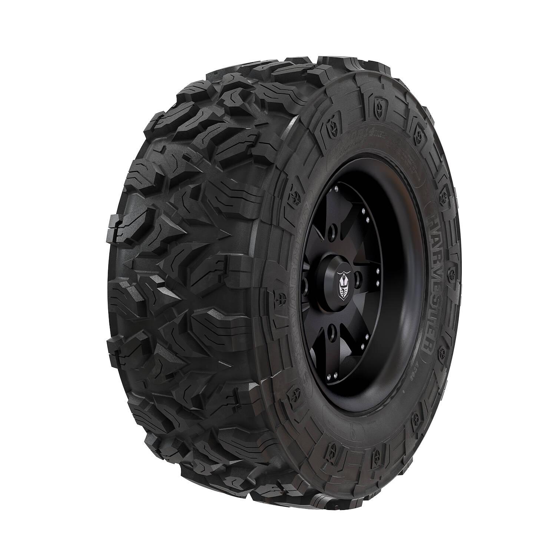 Pro Armor® Wheel & Tire Set: Amplify & Harvester®, Matte Black, 28R15