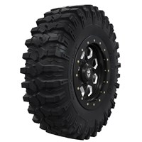 Pro Armor® Wheel & Tire Set: Hexlr & Dual-Threat, Accent, 32R15
