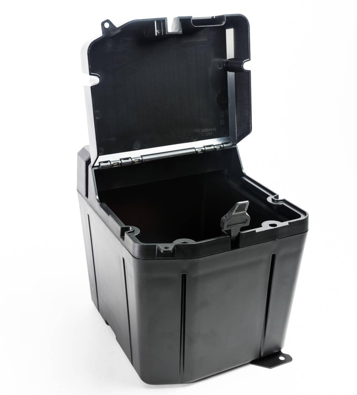 Replacement OEM #2882910 SAUTVS Ranger Dual Bin Under Seat Dry Storage Box Poly Water Resistant Underseat Storage Bin for Polaris Ranger XP 1000 Diesel EPS Accessories