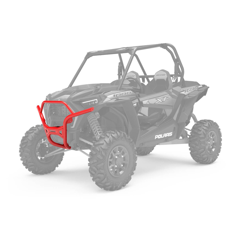 Desert Bumper - Front - Indy Red