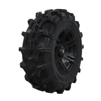 "Pro Amor® Wheel & Tire Set: Mud XC - SIXR - Matte Black - 29""R14"