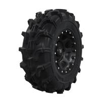 "Pro Amor® Wheel & Tire Set: Mud XC - Shackle - Matte Black - 29""R14"