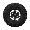 "Pro Amor® Wheel & Tire Set: Mud XC - Buckle - Matte Black - 27""R14 - Image 5 of 5"