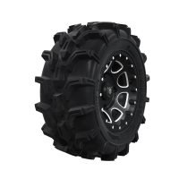 "Pro Amor® Wheel & Tire Set: Mud XC - Shackle - Accent - 27""R14"