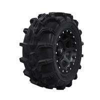 Pro Armor® Wheel & Tire Set: Shackle & Mud XC, Matte Black, 27R14