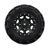 "Pro Amor® Wheel & Tire Set: Mud XC - Shackle - Matte Black - 27""R14 - Image 5 of 5"