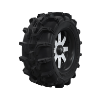 "Pro Amor® Wheel & Tire Set: Mud XC - Amplify - Accent - 27""R14"