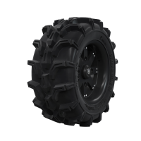 "Pro Amor® Wheel & Tire Set: Mud XC - Amplify - Matte Black - 27""R14"