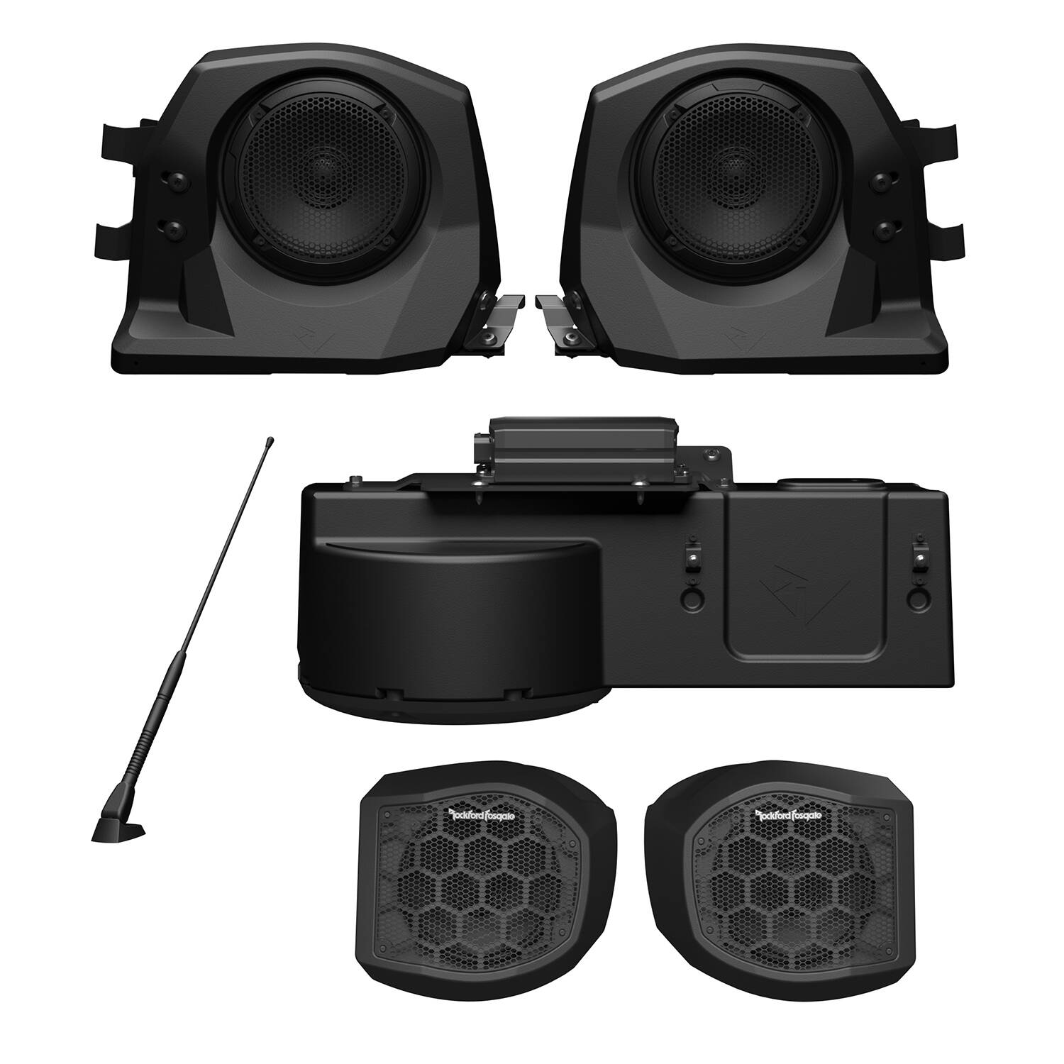 Stage 4 Ride Command Audio Kit by Rockford Fosgate