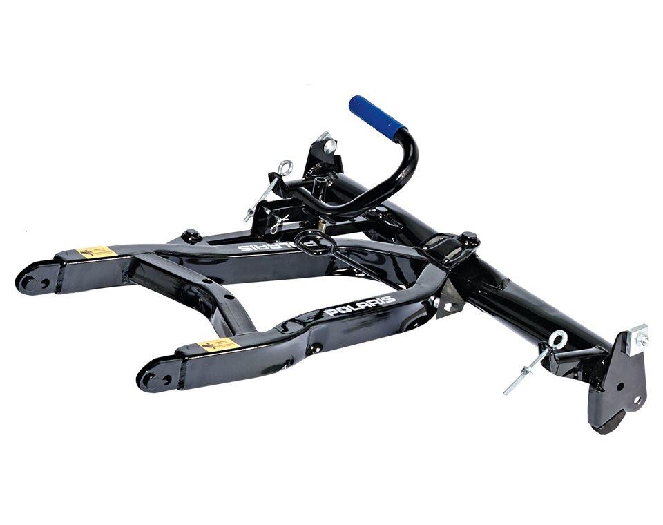 Glacier® Pro Lock & Ride® Steel ATV Plow Frame, Black