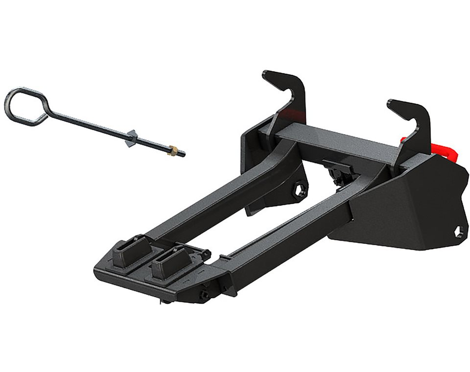 glacier integrated plow mount polaris sportsman