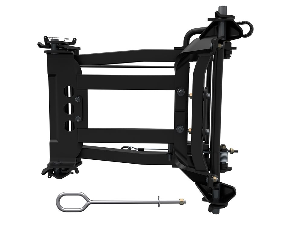 Integrated Plow Mount Frame Attachment
