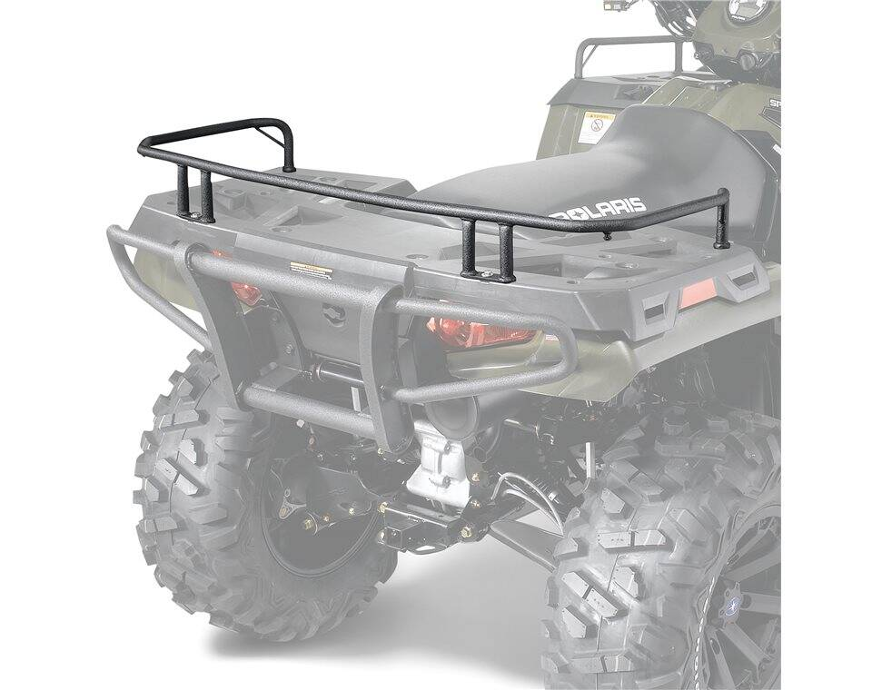 Rear Rack Extender Black Polaris Sportsman Ca