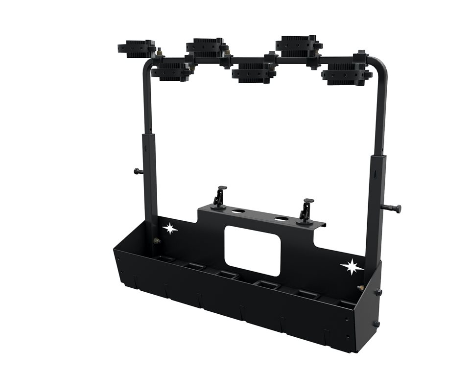 Lock Amp Ride 174 Gun Rack 6 Polaris Ranger