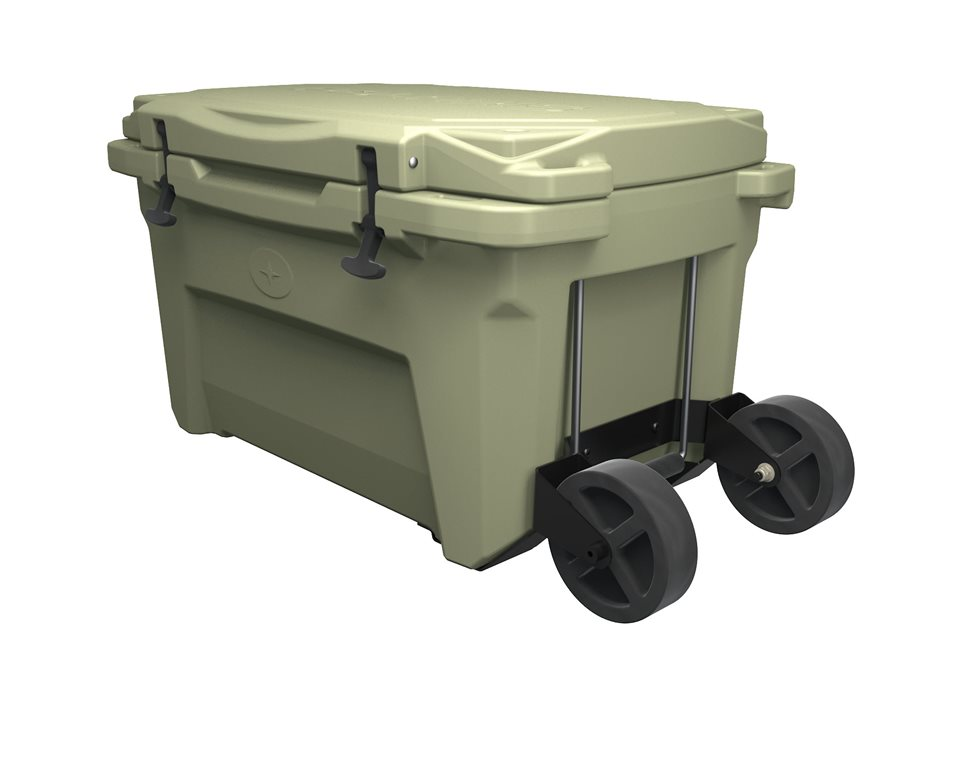 Polaris Northstar® 60 QT Cooler - Wheels