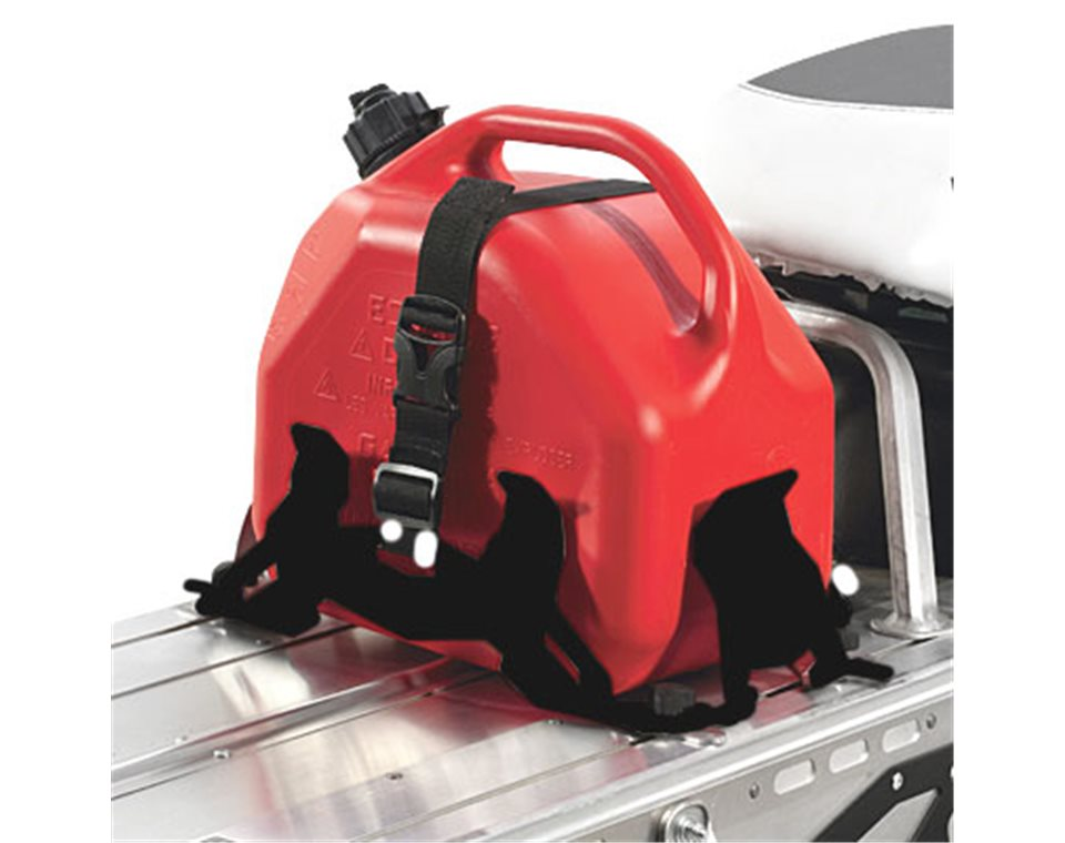 Adjustable Fuel Can Rack Black Polaris Snowmobiles En Ca