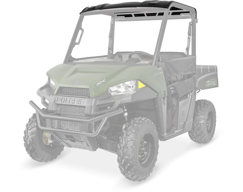 Sport Roof - Poly 2-Seat Black