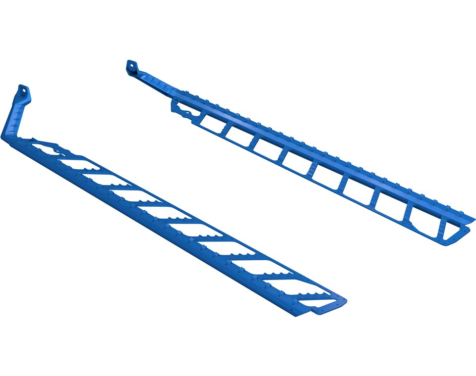 Burandt's HD PowderTrac Boards- Blue