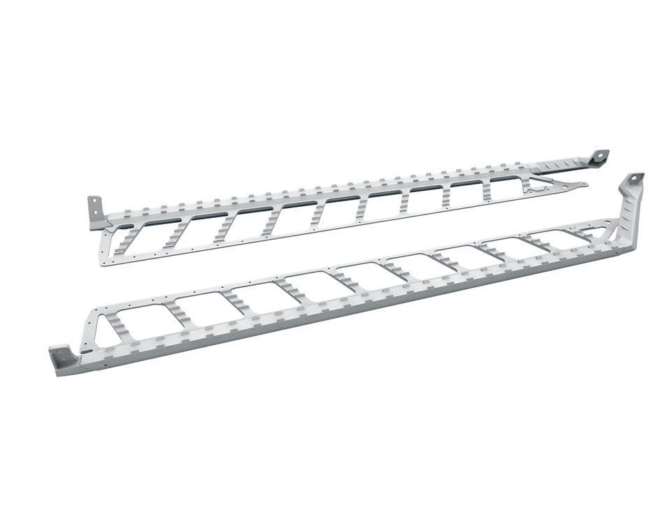 "Extreme Running Boards 174"" - White"