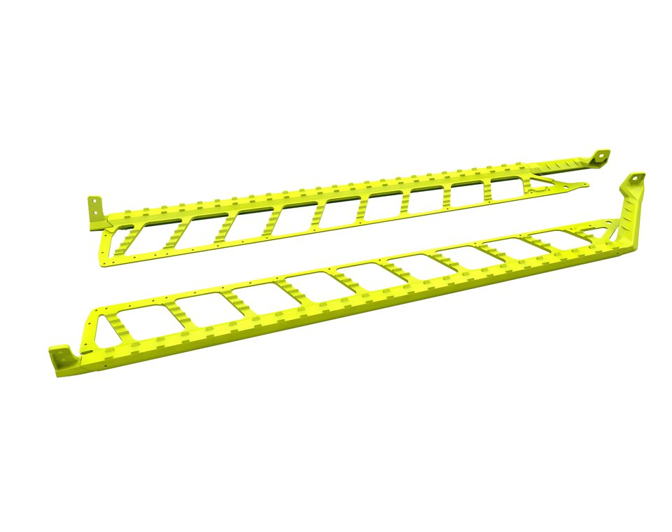 "Extreme Running Boards 174"" - Lime Squeeze"