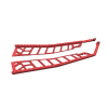 Extreme Running Boards 144 in., Red - Image 2 of 3