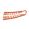 Extreme Running Boards 144 in., Orange - Image 2 of 3