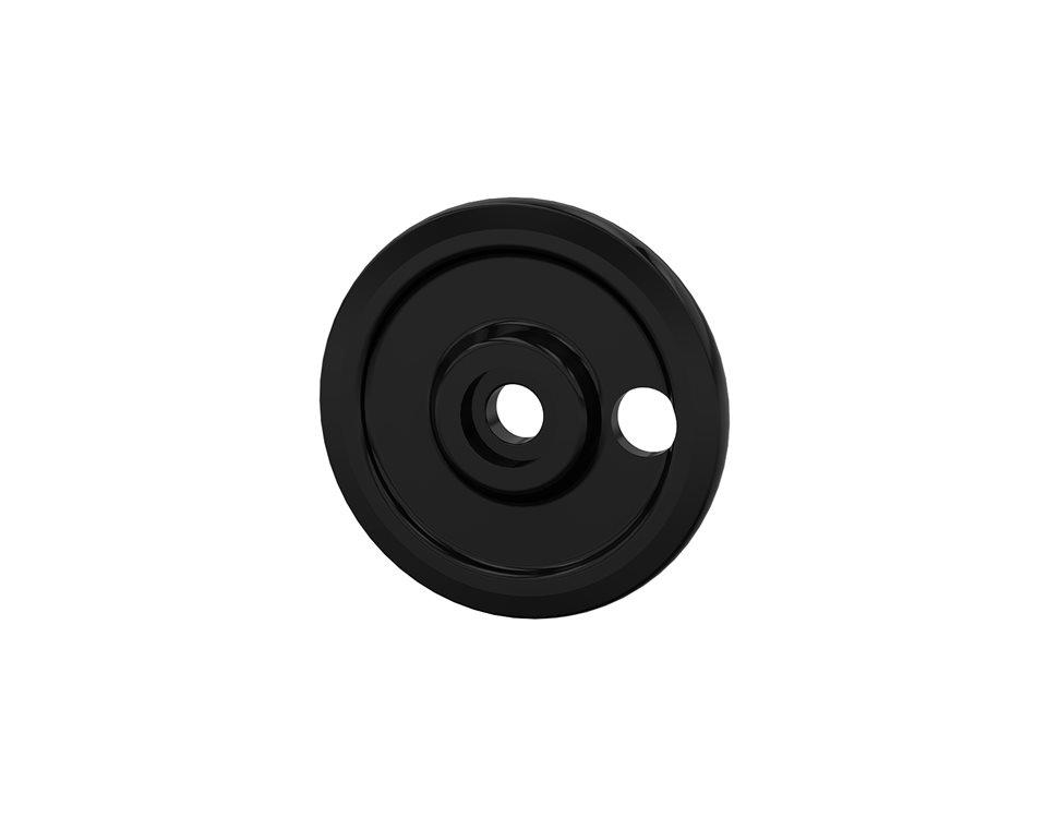 Solid Bogie Wheel - External Rail