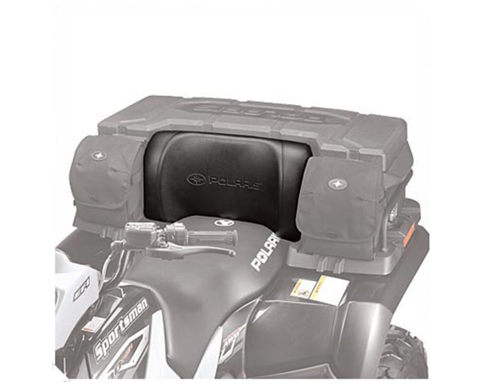 Lock Amp Ride 174 Cargo Box Backrest Black Polaris Atv