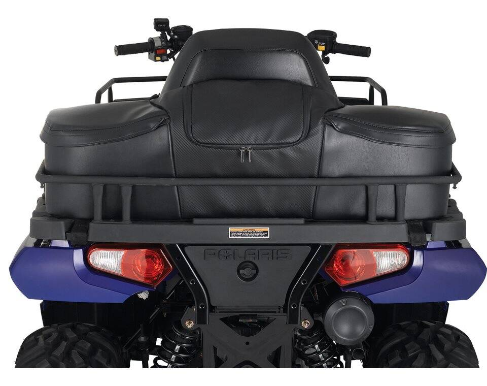 Semi rigid touring cargo bag black polaris sportsman publicscrutiny