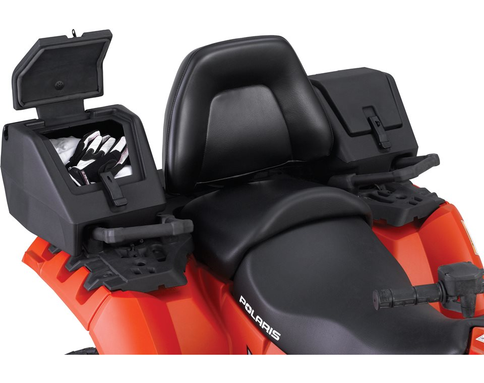 Lock ride rear storage box black polaris sportsman publicscrutiny Images