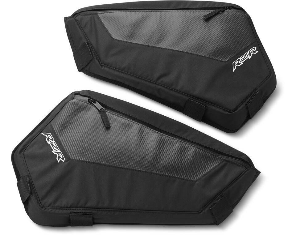 Lower 60\  Door Storage Bag- Black  sc 1 st  Polaris RZR & Lower 60\