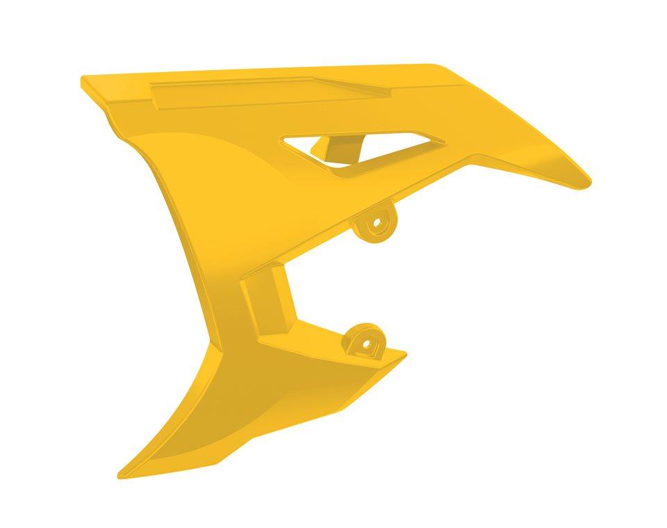 Painted Belt Guard Cover - Daytona Yellow