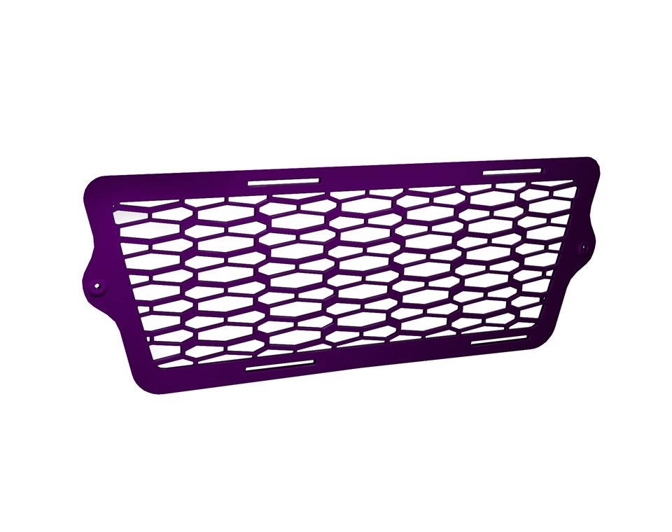 Painted Front Grille - Midnight Purple