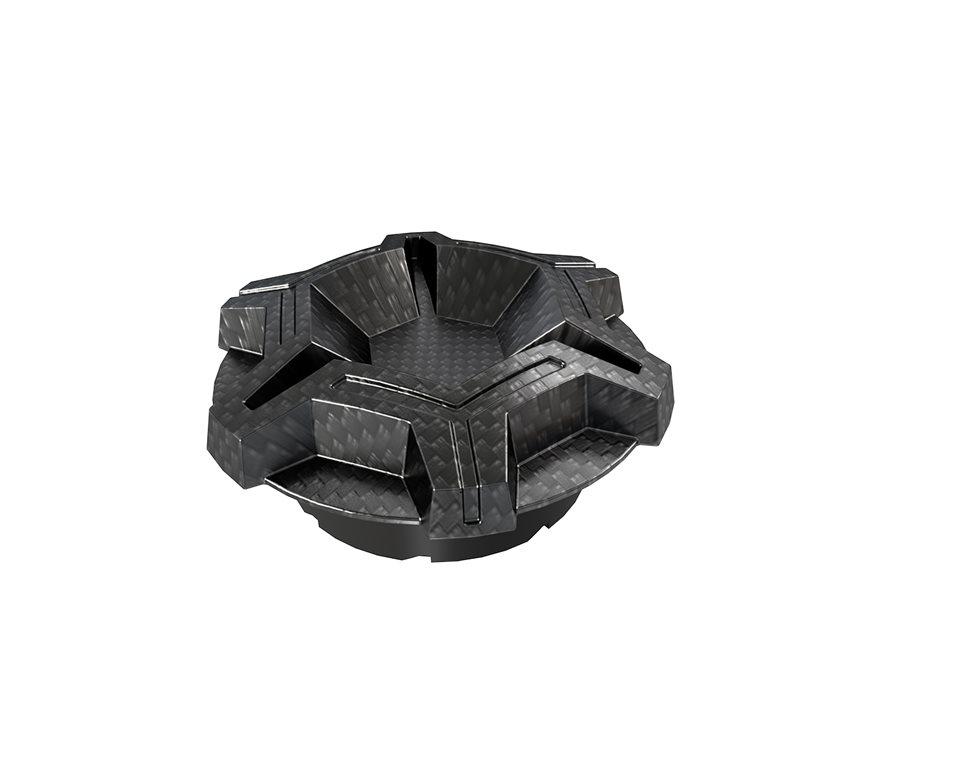 Carbon Fiber Dipped Gas Cap