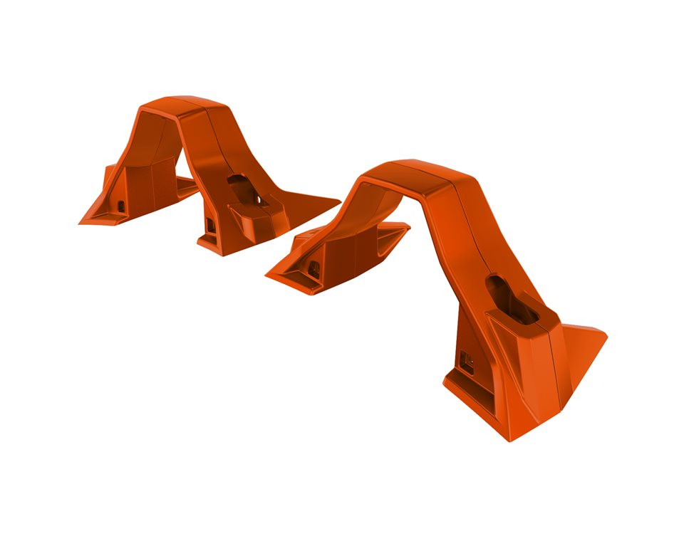 Painted Lower Hoop Accent Kit - Zion Orange
